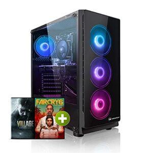 Megaport PC Gamer AMD Ryzen 5 3600 6X 3,60 GHz • AMD Radeon RX 6600 XT 8GB • 16Go 3000 DDR4 • 1To M.2 SSD • Windows 10 • WiFi • USB3.0 Unité Centrale Ordinateur de Bureau