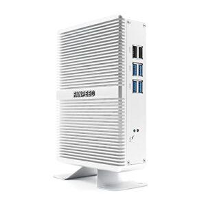 Mini Ordinateur Mini PC,FANPEEC Windows 10 Pro Mini PC Gamer Intel Core i5-7267U,Intel Nuc 8G DDR4+128G NVMe,Ordinateurs de bureau,4K HDMI+VGA,2.4G/5.8G WiFi,4USB3.0+2USB2.0,RJ45 Lan,Verrou Kensington