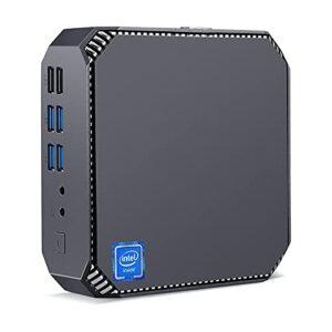 Mini PC Gamer Intel i5 7200u Windows 10 Pro, 8 Go DDR4 256 Go M.2 SSD Mini Ordinateur de Bureau, HDIM + VGA + DP Triple écran 4K HD BT4.2, Double Bande Gigabit-Ethernet – WiFi 2.4G/5G